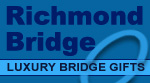 Richmond Bridge for luxury Bridge gifts, tables and everything you need for playing Bridge.
