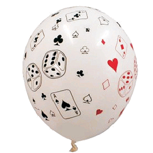 Bridge Players poker players Balloon