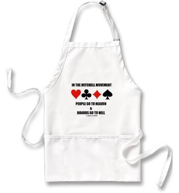 In The Mitchell Movement People Go To Heaven Hell Apron