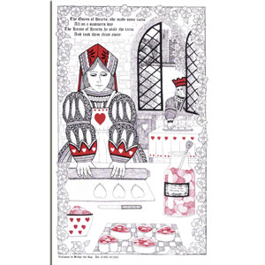 Tea Towel The Queen of Hearts