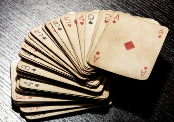 How to clean your dirty playing cards