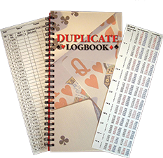 Duplicate Log Books and Diaries from Gifts and Supplies for Card Players