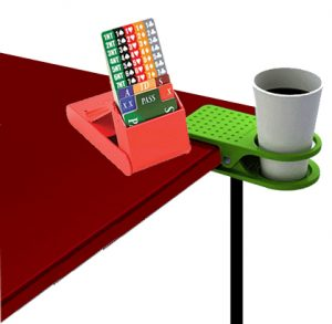 Coffee Cup Bridge Table Clip
