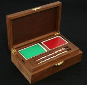 Hand Crafted Wood and Leather Bridge Set