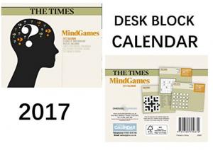 The Times 2017 Mindgames Calendar