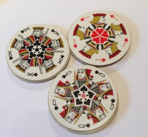 Round Playing Cards as displayed on Gifts and Supplies for card players