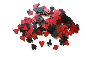 Card Party Suit Symbol Confetti