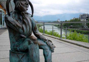 Jester Statue, Austria