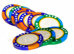 Chocolate Casino Coins - Gifts & Supplies for Card Players