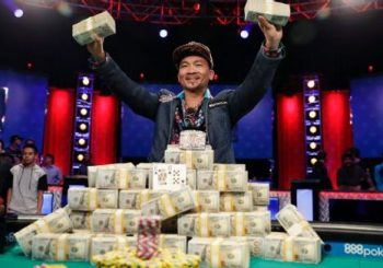 2016 World Series of Poker main event champion Qui Nguyen