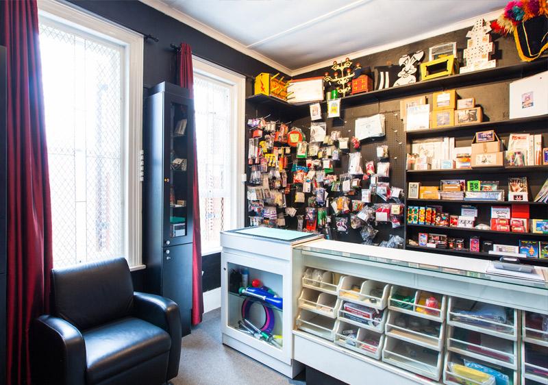 Inside the Magic Shop