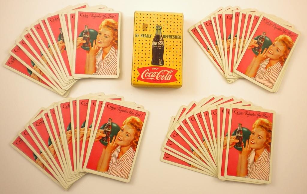 Looking at Antique and Vintage Card Decks