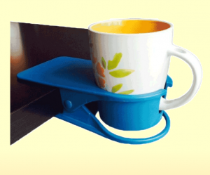 Hevy Duty Cup Holder for Card Bridge Table Caddy - Gifts for Card Players