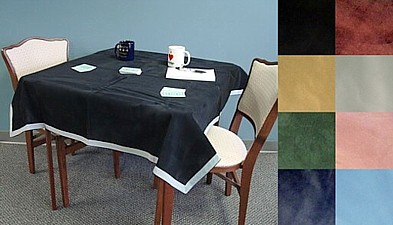 Bridge Tables, Table Covers, Table Hoodies from Baron Barclay Bridge Supply