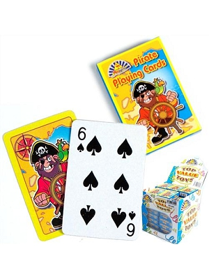Pirate Playing Cards on Gifts for Card Players
