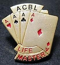 Bridge Card Game Pins