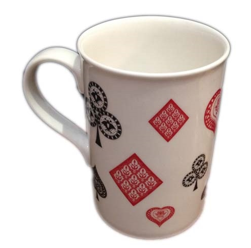 Card Motif Coffee Mug
