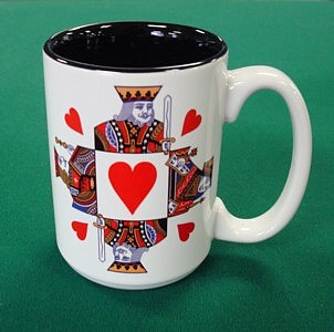 King of Hearts Coffee Mug