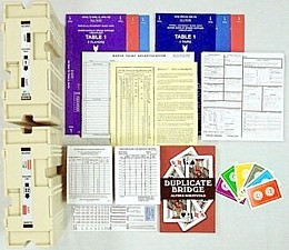 Duplicate Kit for up to 16 Players Home Duplicate Bridge