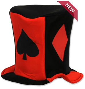 Party Hat for dealer card suits