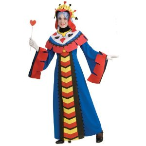 Queen of Cards Costume Hearts