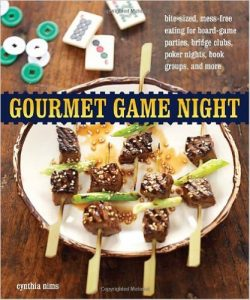 Gourmet Games Night - bite sized snacks for your next card party