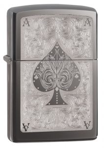 Zippo Spade Card Pocket Lighter - Gifts for Card Players