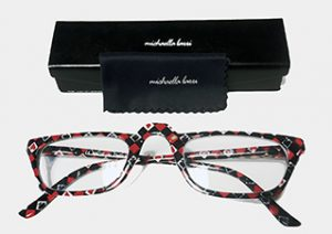 Card Motif Glasses