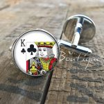 Playing Cards Cuff Links - Gifts for Card Players