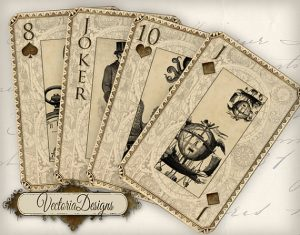 Steam Punk Cards as displayed on Gifts & Supplies for Card Players