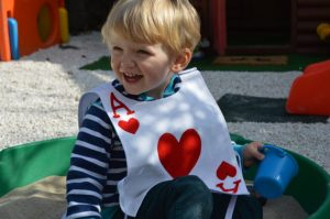 Child's Ace of Hearts Costume as displayed on Gifts and Supplies for Card Players