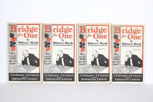 Vintage Solitaire Bridge Game