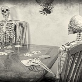 Skull Rummy and other Halloween Card Games