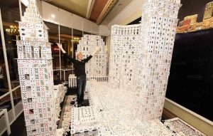 Biggest Playing Card Structure