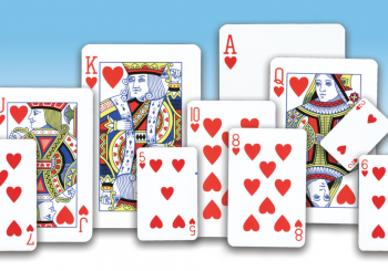Playing Card Heart Family