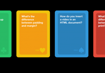 Coding with card games - Gifts for Card Players