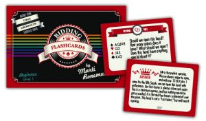 Bridge Flash Cards - Bidding - Gifts for Card Players