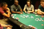 Texas Hold'em brings Marines to The Zone