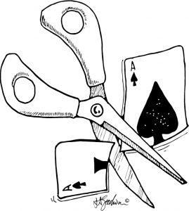 Scissors coup