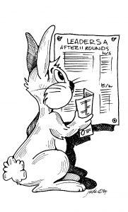 Rabbit Scoresheet Teams Event Bridge Convention Card