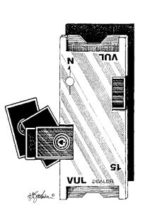 Illustration of duplicate board wtih cards, board 15