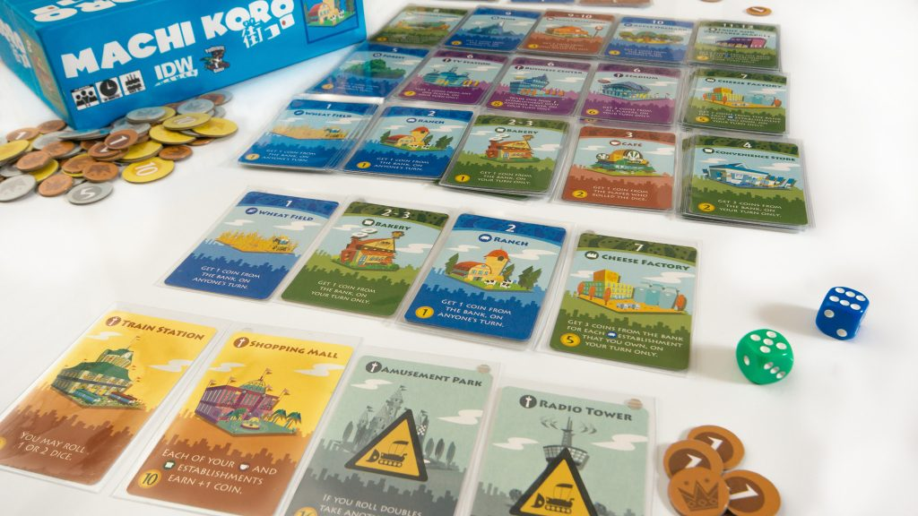 Machi Koro: The Perfect Game to Kick-off a regular Family Games Night