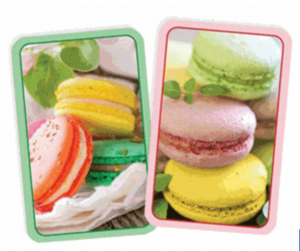 The bridge source playing cards macaroons