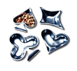 Card Suite Snack Dishes - Gifts for Card Players