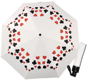 Card Symbols Umbrella - Gifts for Card Players
