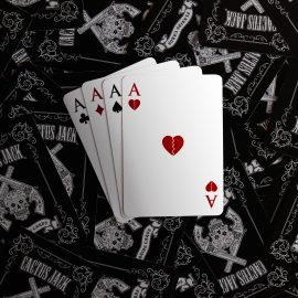 Broken Heart Playing Cards - Gifts for Card Players
