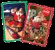Jumbo Print Santa Cards - Gifts for Card Players