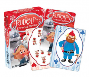 Rudolph Playing Cards