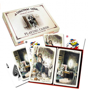 A Christmas Carol Playing Cards - Gifts for Card Players