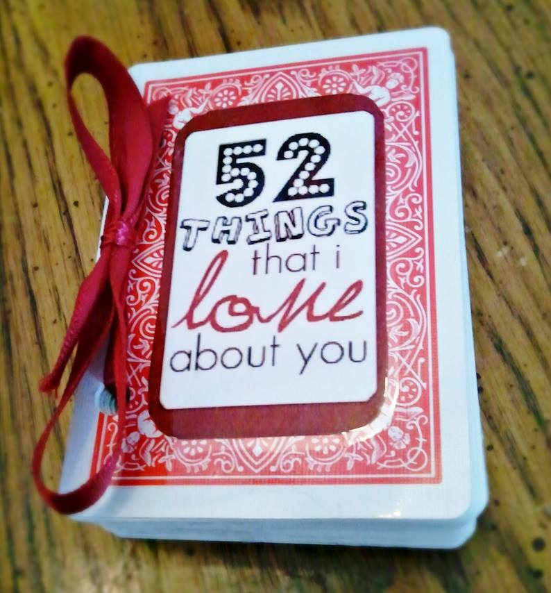 52 Things that I love about you